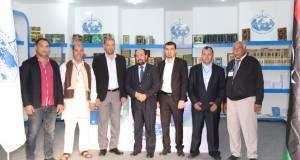 افتتاح جناح الجمعية بمعرض طرابلس الدولي في دورته السادسة والأربعين
